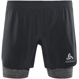 Odlo Millennium Linencool PRO 2 in 1 Shorts Men black-black